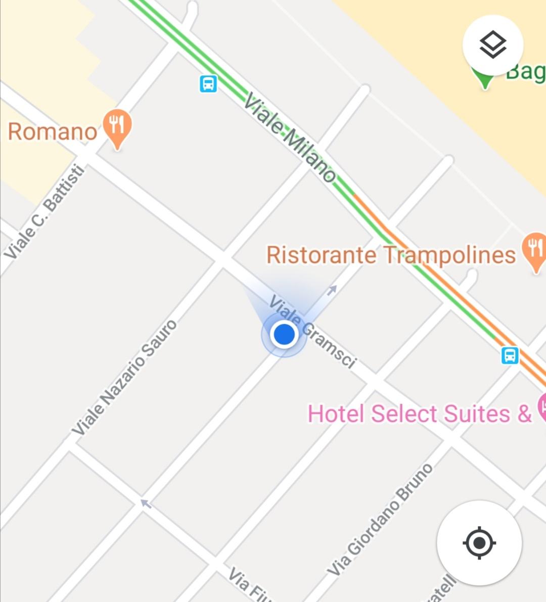 Libreria Bookmarket Riccione Mappa